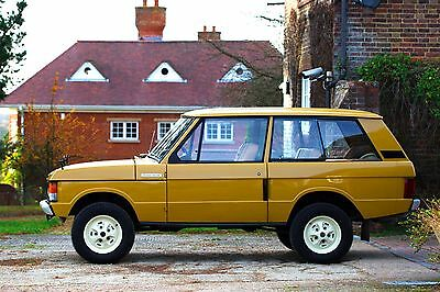 Range Rover Classic 1973 Suffix B. 35K miles. The best.