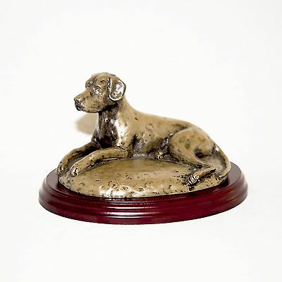 GREAT DANE  Bronze Figurine. Hand made in England. Ideal gift.