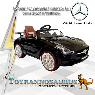 Mercedes Roadster SX-128 Licensed AMG 12 Volt Ride On Car with RC, MP3, Lights