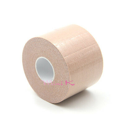 5mx2.5cm Skin Color Elastic Kinesiology Tape Roll Sports Physio Muscle Strain