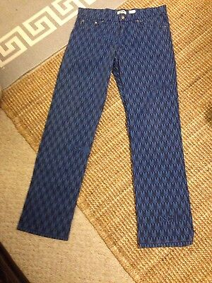 mens vintage moschino fabric trousers 34