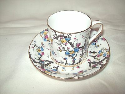 VINTAGE ROYAL STAFFORD COFFEE CAN & SAUCER . 2 of 4