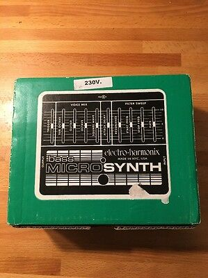 Electro Harmonix Bass Micro Synth Filter Bass Synth
