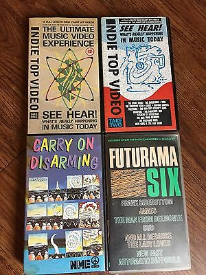 Rare Indie VHS Video Collection Indie Top Video Carry On Disarming Futurama 6