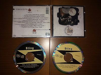 STING- The Live Cages (2Cd) Rare