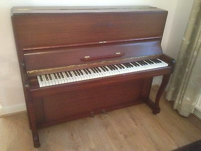 Restored Upright Overstrung Underdamped 88 Key Piano