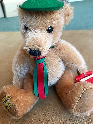 Merrythought 'Off To School' Limited Edition Collectors Bear