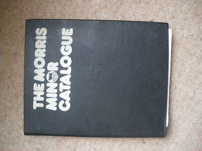 morris 1000 parts catalogue  A4  size    35 years old inc price list