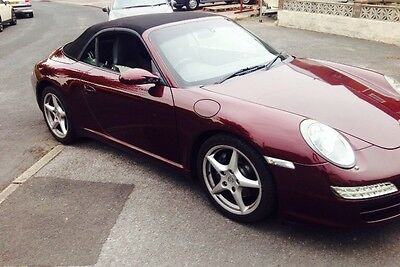 2005 porsche 911 997 carerra 2 convertible manual