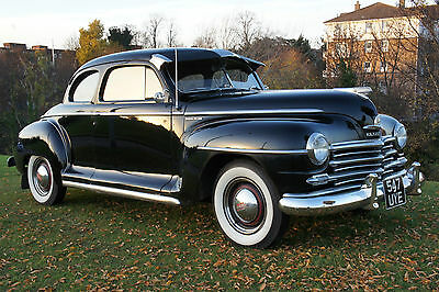 1947 Plymouth P15C Club Coupe In Excellent Condition