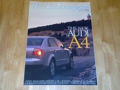 Audi Magazine - Spring/summer 2001 - New A4, Project Steppenwolf