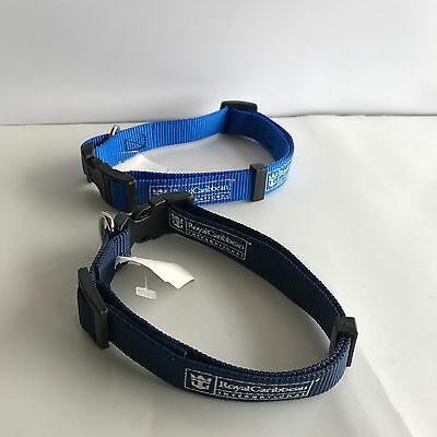 2 - Royal Caribbean International Nylon Pet Collar - Adjustible - New With Tags