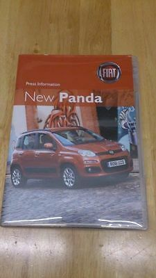 2011 Fiat Panda Press Kit Inc. Cd