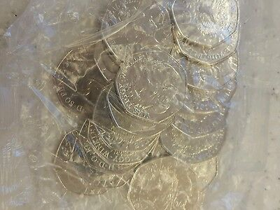 Mrs Tiggy Winkle 50p Coins Full Bag Of 20 Sealed UNCIRCULATED