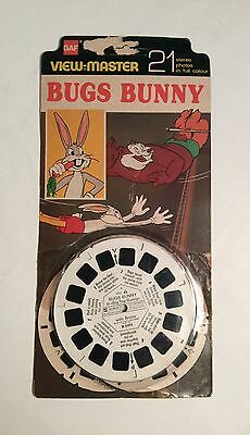 """Viewmaster   """"Bugs Bunny""""  reels x3"""