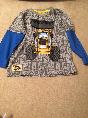 Boys Long Sleeved JCB T-shirt 18-24 Months