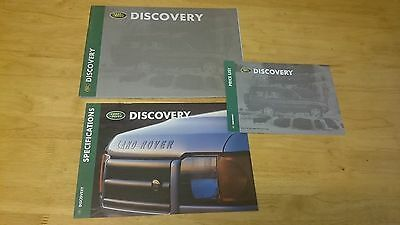 1998 - 1999 Land Rover Discovery Brochure Set inc. Price List