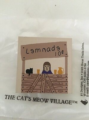 Cat's Meow Lemonade Stand
