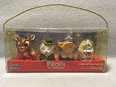 Rudolph the Red-Nosed Reindeer & Friends Jingle Buddies Christmas Ornament Set