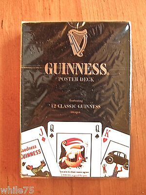 Guinness Beer - playing cards - poster deck - still sealed in original wrap