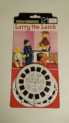 Viewmaster  Larry the Lamb  reels x3.