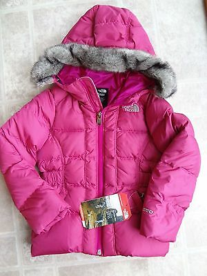 The North Face Gotham Faux Fur Trim Jacket 4T Toddler Girl (NEW) -Free Shipping
