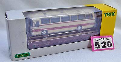 P520 Trix 24400 flat car with bus load Ex/Boxed