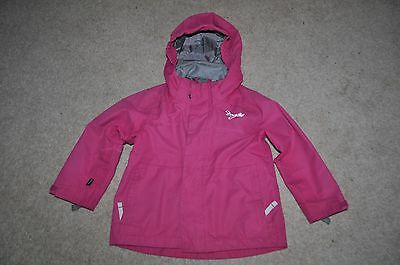 Girls TOG24 Pink winter Milatex Ski Outer Jacket size 1 - 2 years / 3 yrs TOG 24