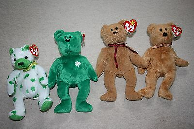 Ty Beanie Baby Bear Collection