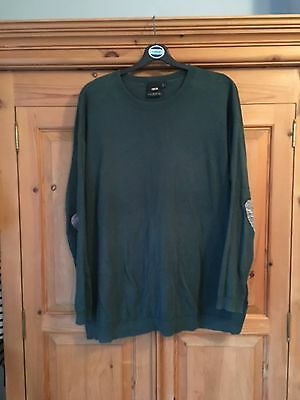 ASOS Maternity Jumper Green Size 14