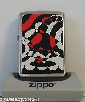 Abstract Design Zippo Lighter From 2005