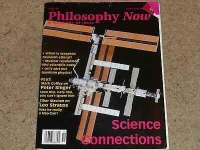 Philosophy Now Magazine - Issue 59 Jan/Feb 2007 - Science Connections