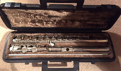 Hernals flute with case