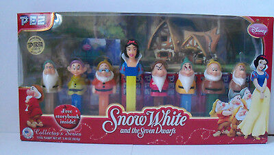 Snow White and the Seven Dwarfs PEZ Collector's Series - NEW/SEALED