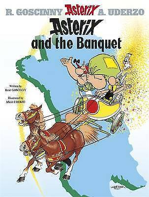Asterix and the Banquet: Album 5 by Rene Goscinny (Hardback, 2004)