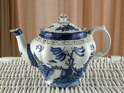 Vintage Booths Real Old Willow A8025 Tea Pot Base - Incorrect Lid Approx 2 Pints