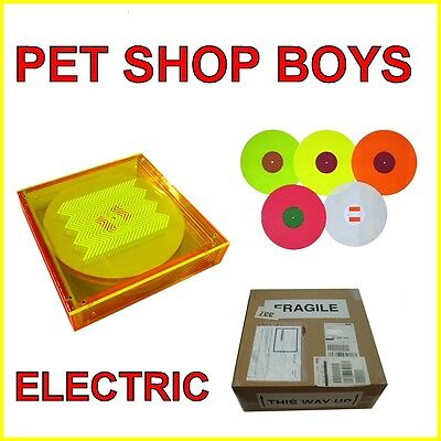 Pet Shop Boys Electric Limited Vinyl Box Set ( new and unopened ) !