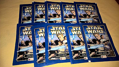 """Pochettes Packets Merlin Star wars EPISODE 2 """"Attack of the clones"""""""