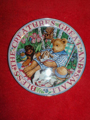 Royal Doulton 'blessed With Friends' Limited Edition Fine Bone China Plate Vgc