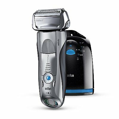 Braun Series 7 Men's Electric Foil Shaver Rechargeable and Cordless Razor Clean