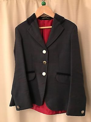 Le Beau Cheval Red Check Showing Jacket