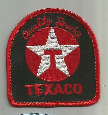 Texaco Gasoline Oil Company Patch Quality Service Station Unsewn 3 Inches Tall
