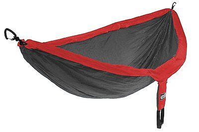 Eagles Nest Outfitters ENO DoubleNest Hammock Red/Charocal