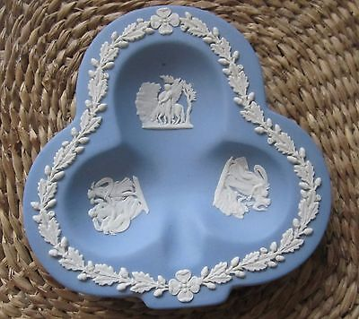 Blue Jasper Wedgwood Club Shaped Pin dish.