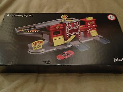 New Fire Station Playset, John Lewis, 3 years+