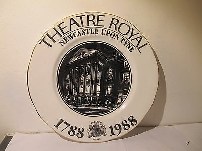 Duchess China Plate Newcastle upon Tyne Theatre Royal 1788 1988
