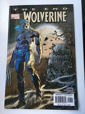 Wolverine The End 1-6 Complete Mini Series NM/ Nm-
