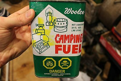 Vintage Woolco Woolworths Camping Fuel Oil Can Coleman Stove Lantern Toronto