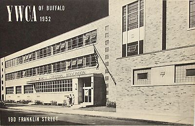 Vintage 1950s Booklet YWCA 245 North St Buffalo NY Service Men & Women Welcome