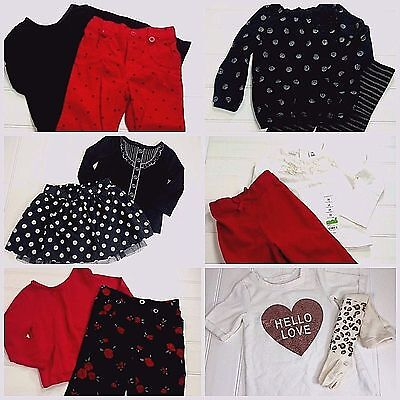 12 pc  Lot Baby Girls Size 24 Months Christmas Holiday